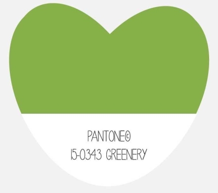 Greenery, Pantone Colour of the Year 2017