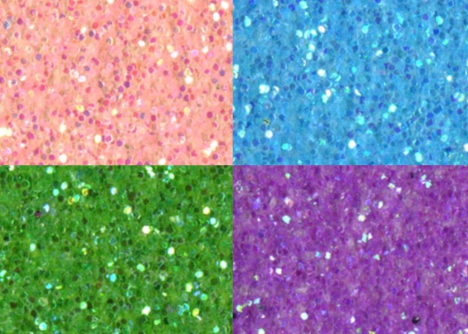 Glitter cardstock by Sullivan's, perfect for handmade party decor